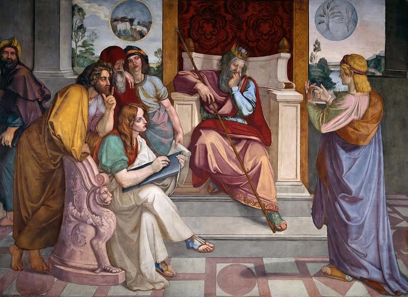 Иосиф толкует сны фараону. Петер фон Корнелиус