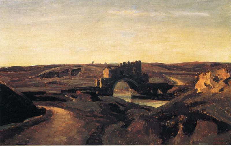 Ponte Nomentano. Jean-Baptiste-Camille Corot
