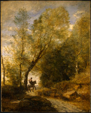 The Forest of Coubron, 1872, NG Washington. Jean-Baptiste-Camille Corot