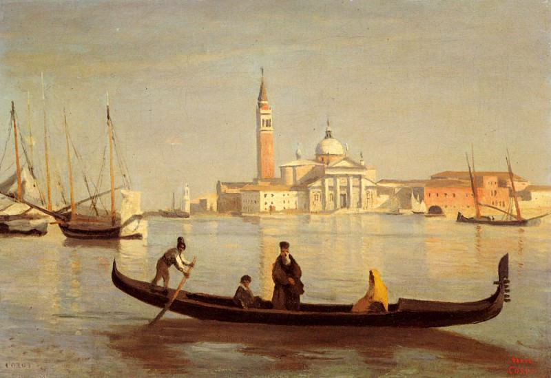 Venise. Jean-Baptiste-Camille Corot