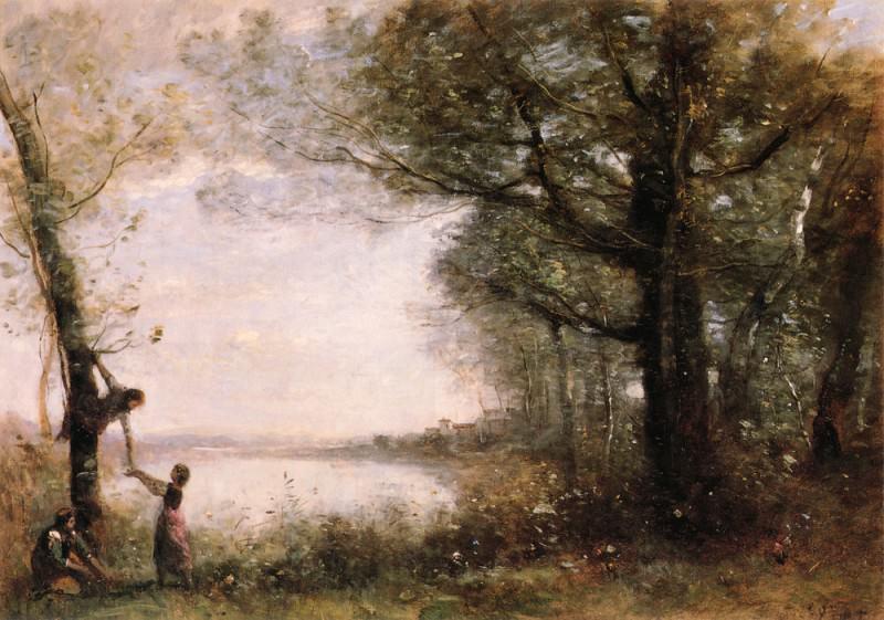 Les Petits Denicheurs. Jean-Baptiste-Camille Corot