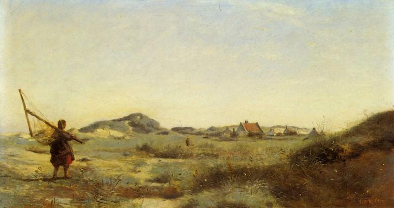 Dunkerque. Jean-Baptiste-Camille Corot