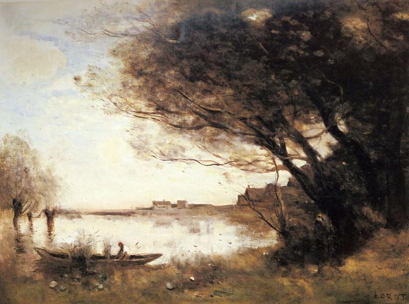 L Inondation. Jean-Baptiste-Camille Corot