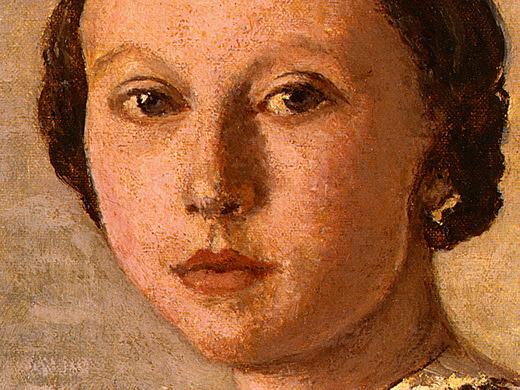 Портрет юной девушки, 1859, фрагмент. Жан-Батист-Камиль Коро