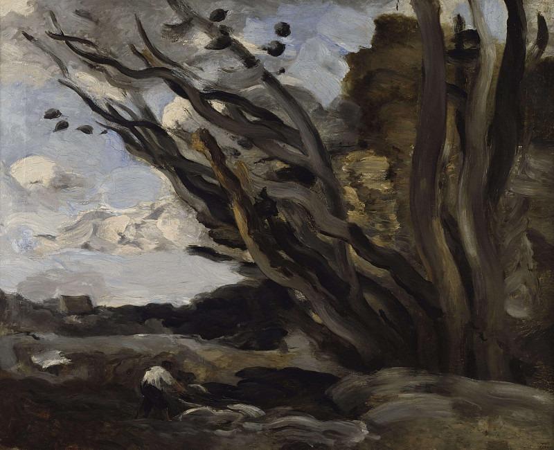Взрыв. Жан-Батист-Камиль Коро