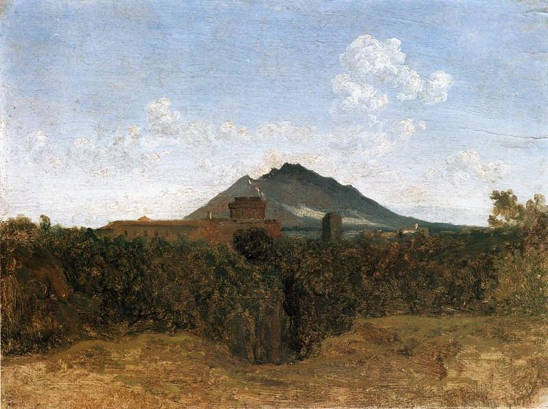 Civita Castellana and Mount Soracte. Jean-Baptiste-Camille Corot