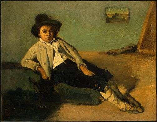 Italian Peasant Boy, 1825-1826, NG Washington. Jean-Baptiste-Camille Corot