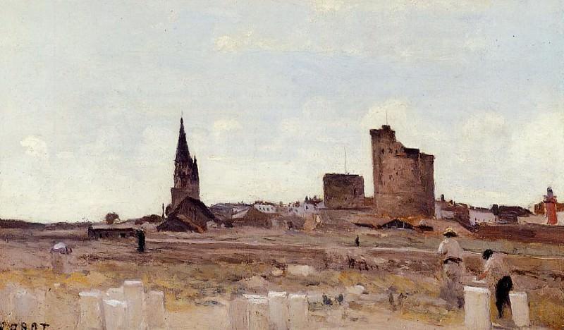 La Rochelle Quarry near the Port Entrance. Jean-Baptiste-Camille Corot