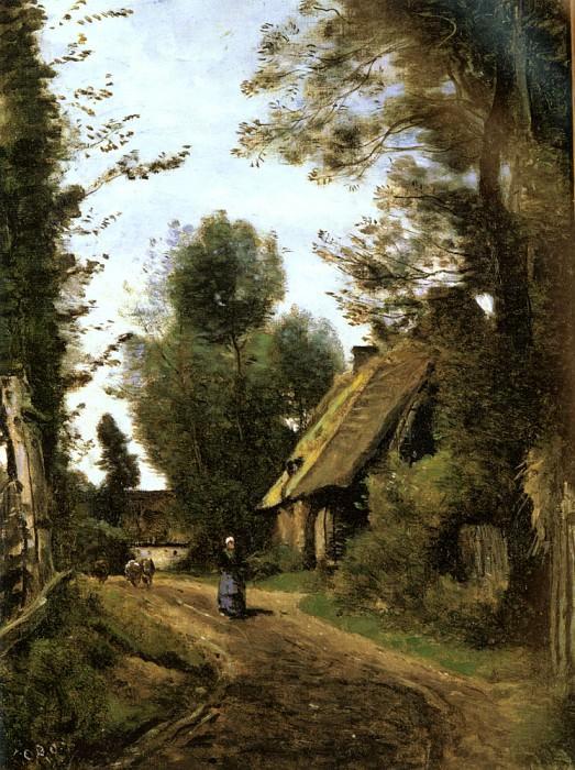 Saint Quentin Des Pres. Jean-Baptiste-Camille Corot