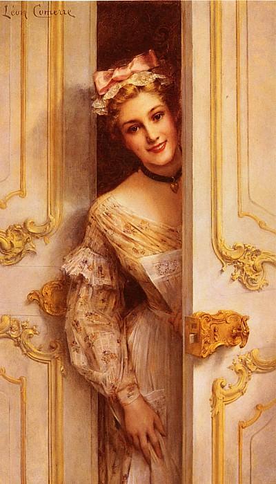 The Pretty Maid. Leon Francois Comerre
