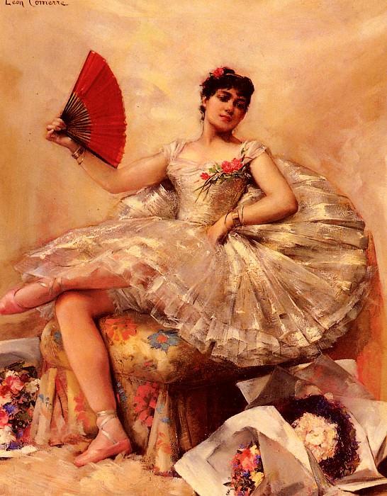 Portrait Of The Ballerina Rosita Mauri. Leon Francois Comerre