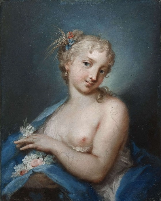 The Summer. Rosalba Carriera (Manner of)