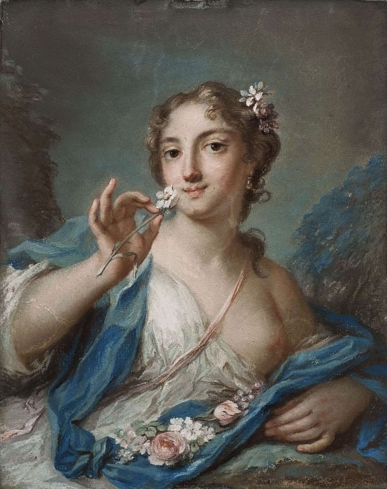 The Spring. Rosalba Carriera (Manner of)