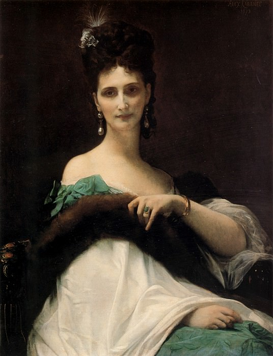 La Comtesse de Keller. Alexandre Cabanel