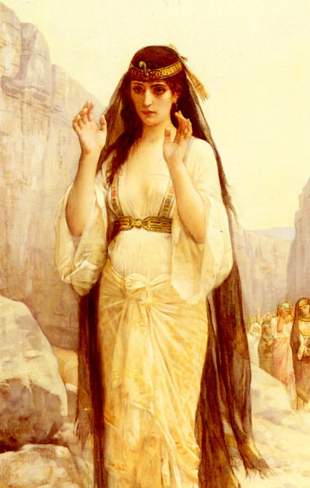 The Daughter Of Jephthah. Alexandre Cabanel