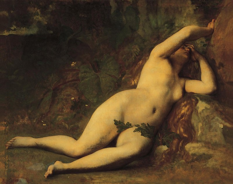 Cabanel Eve after the fall. Alexandre Cabanel