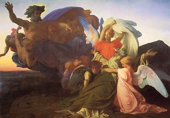 The Death of Moses 1851. Alexandre Cabanel