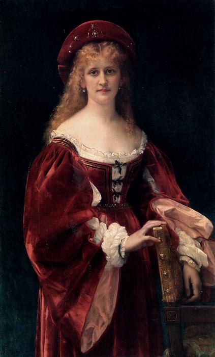 Patricienne De Venise. Alexandre Cabanel