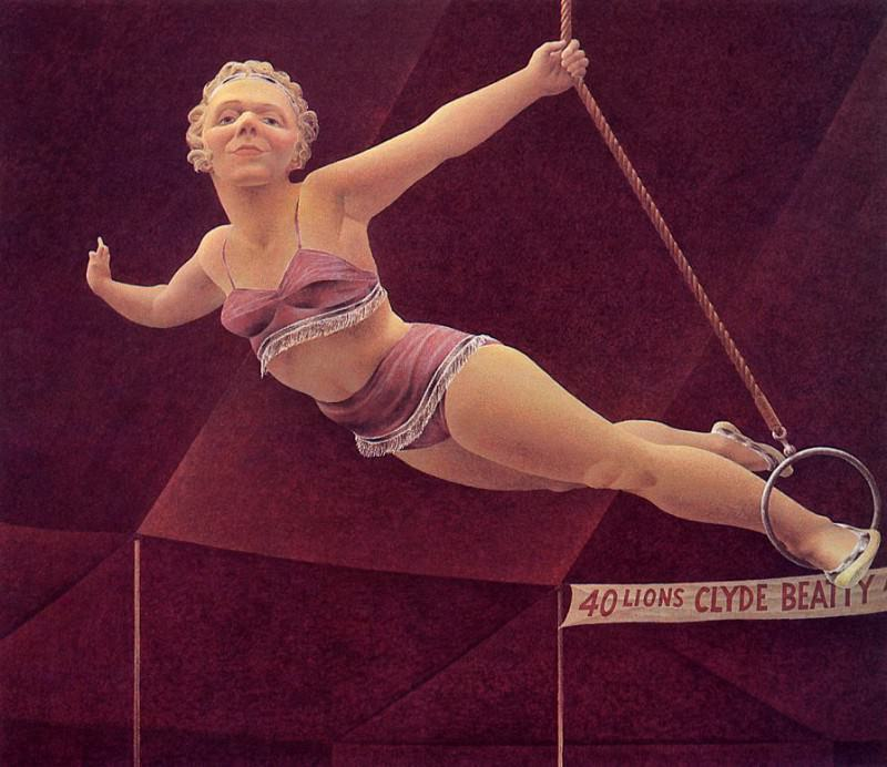 Circus Woman. Alex Colville
