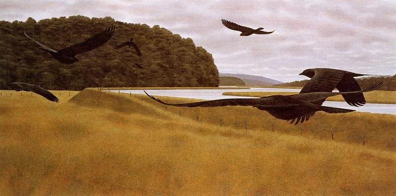 Seven Crows. Alex Colville