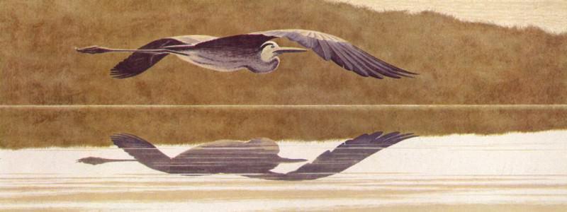 Heron. Alex Colville