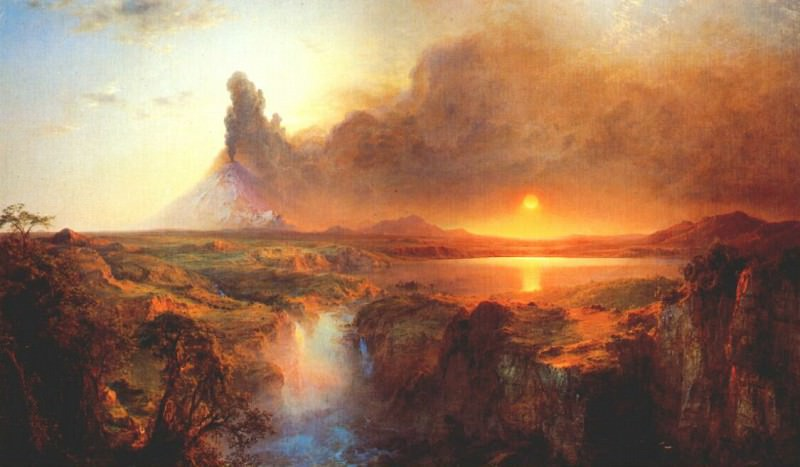 cotopaxi 1862. Frederic Edwin Church