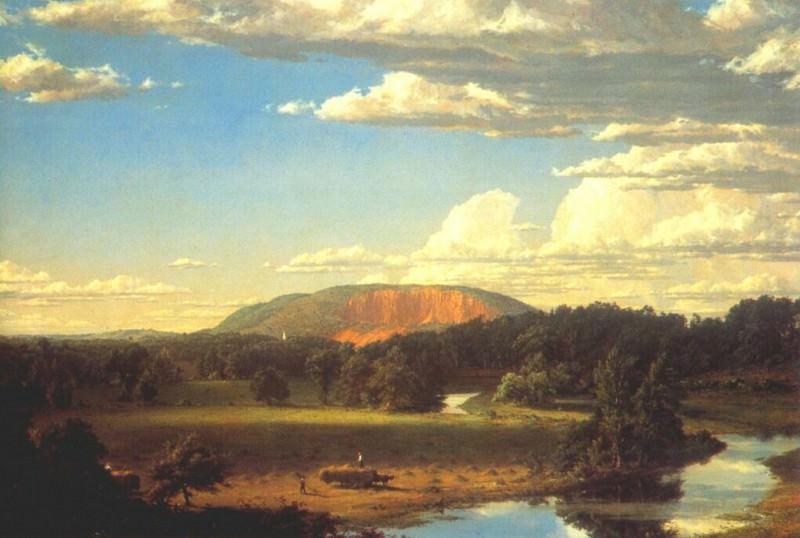 Западные горы, Нью-Хейвен, 1849. Фредерик Эдвин Чёрч
