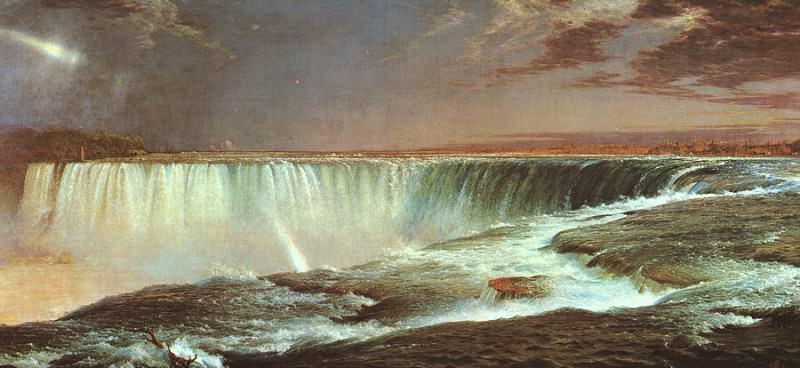 Niagara Falls, 1857. Frederic Edwin Church
