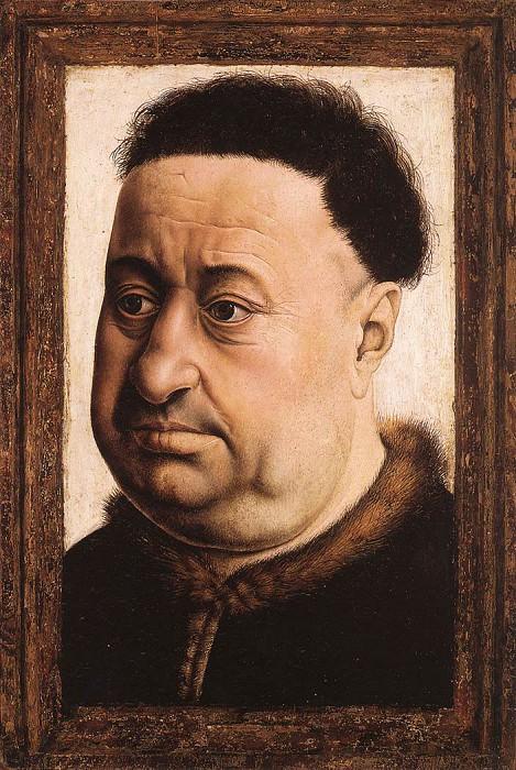 Портрет толстого мужчины. Роберт Кампен