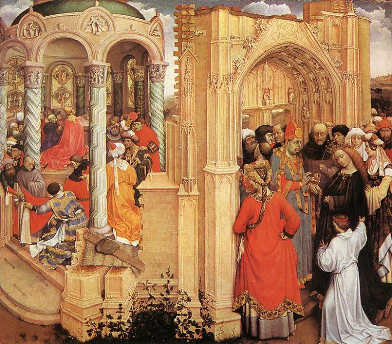 Обручение Девы Марии. Роберт Кампен