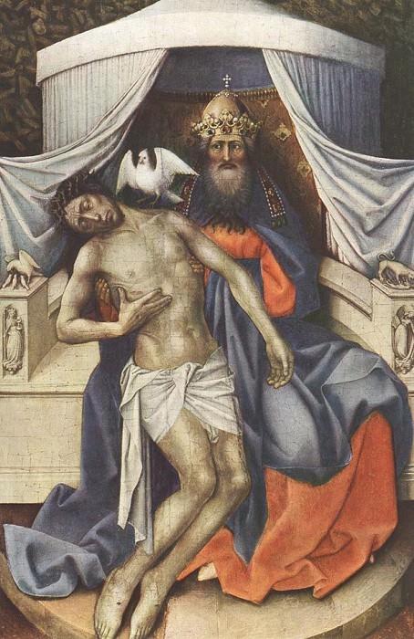 Святая Троица. Роберт Кампен