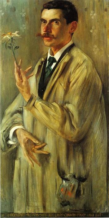 Portrait of the Painter Otto Eckmann. Lovis Corinth