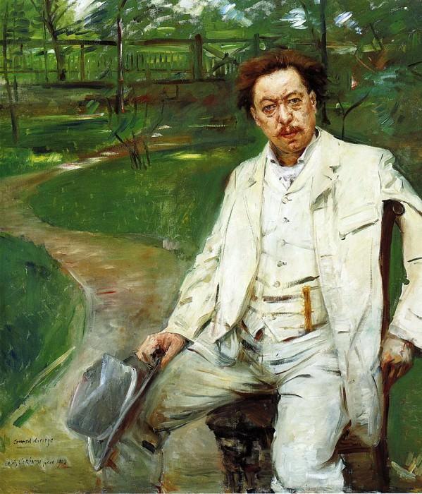 Портрет пианиста Конрада Анзорге. Ловис Коринт