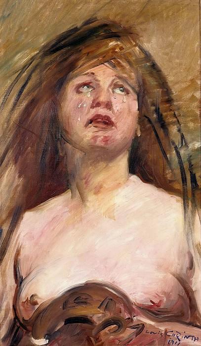 Плачущая Магдалина. Ловис Коринт