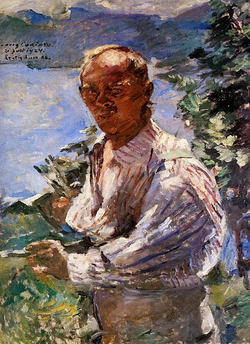 Self portrait. Lovis Corinth