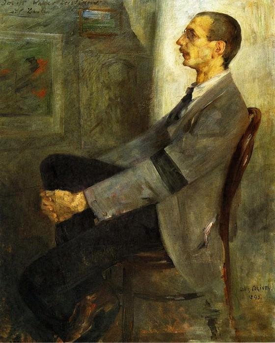 Portrait of the Painter Walter Leistilow. Lovis Corinth