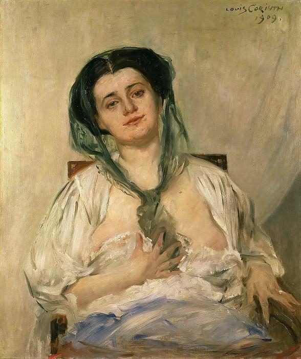 Донна Гравида (Беременная дама). Ловис Коринт