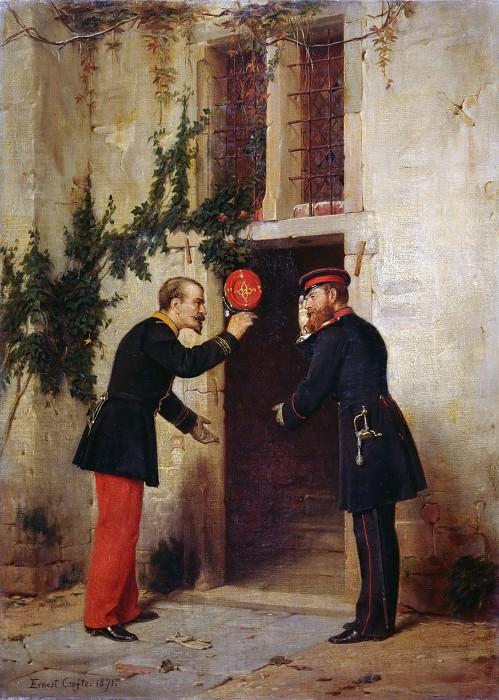 Встреча кронпринца Фридриха с Наполеоном III. Эрнест Крофтс