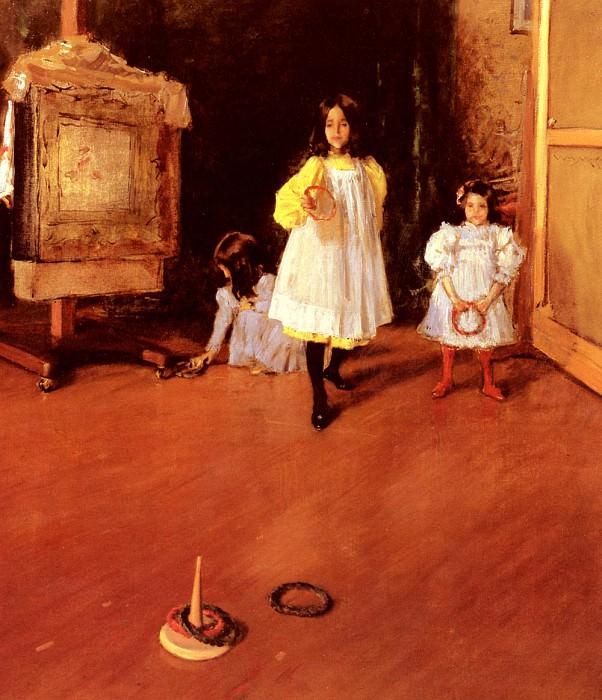 Ring Toss. William Merritt Chase