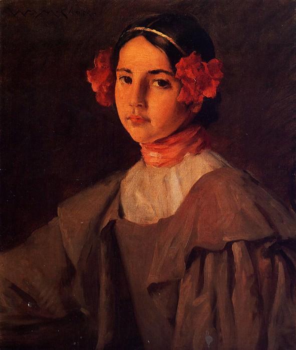 My Daughter Alice. William Merritt Chase