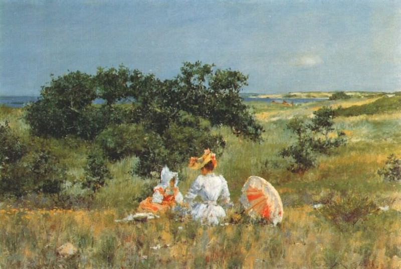 the fairy tale 1893. William Merritt Chase