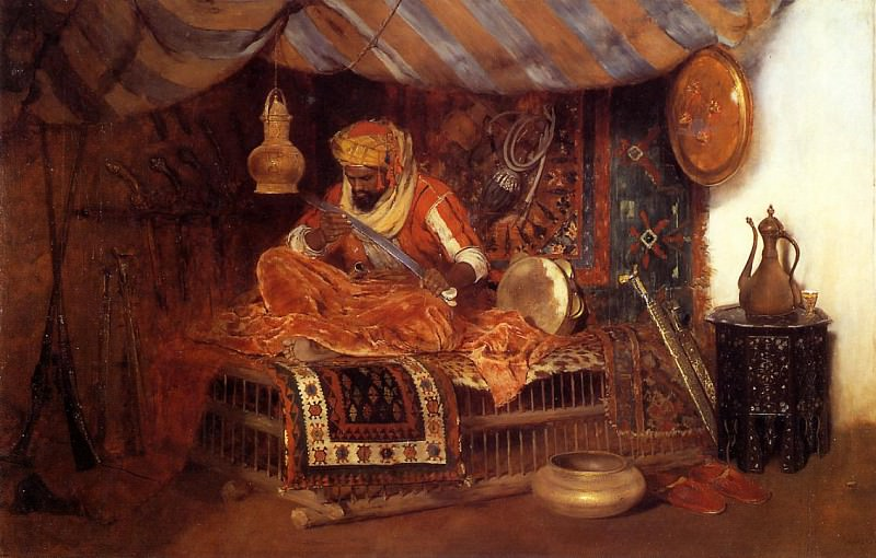 The Moorish Warrior. William Merritt Chase