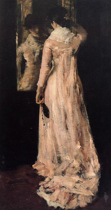 The Mirror. William Merritt Chase