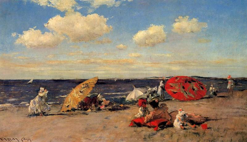 At the Seaside. William Merritt Chase
