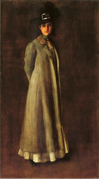 My Daughter Dieudonne (Alice Dieudonne Chase). William Merritt Chase