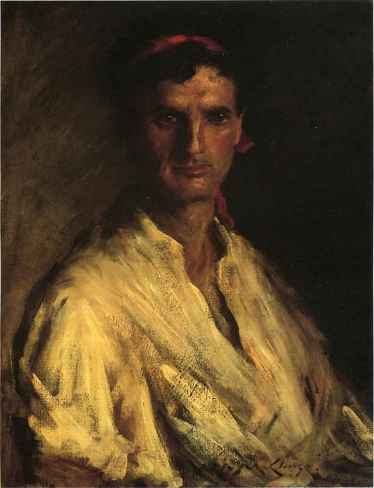 A Young Roman. William Merritt Chase
