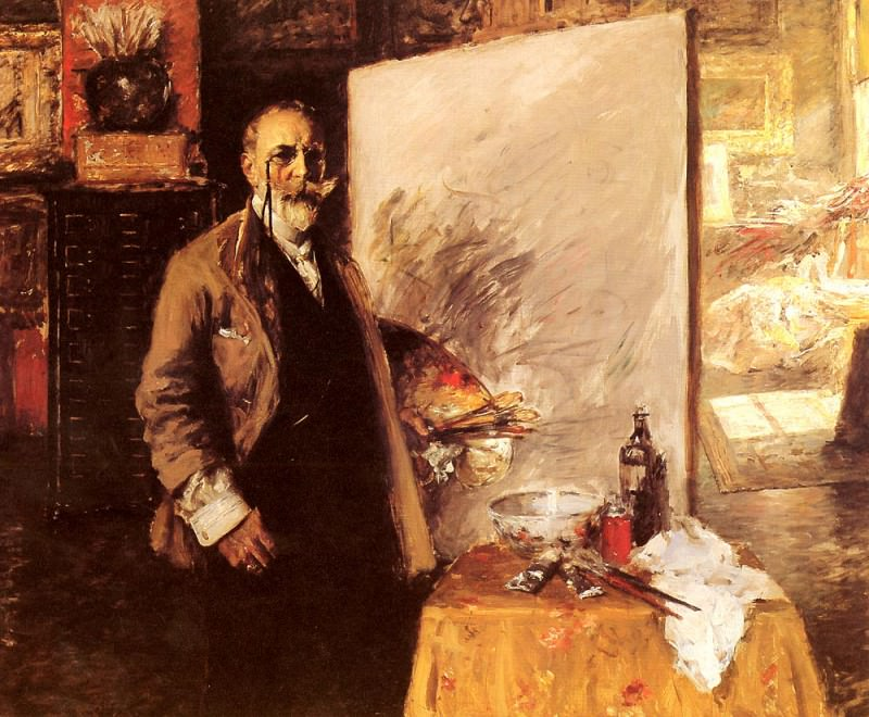 Self Portrait. William Merritt Chase