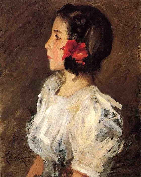 Dorothy. William Merritt Chase