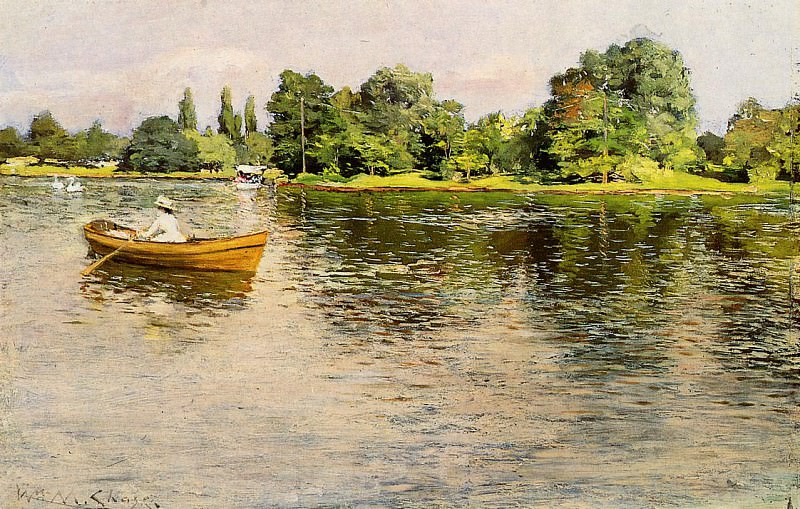 Summertime c1886. William Merritt Chase