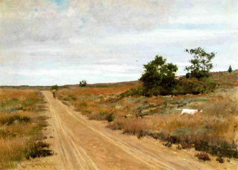 Hunting Game in Shinnecock Hills. William Merritt Chase